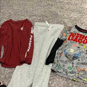Little boys clothing lot.